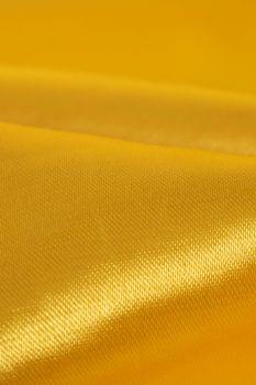 Tecido Cetim Span Amarelo Canário Escuro