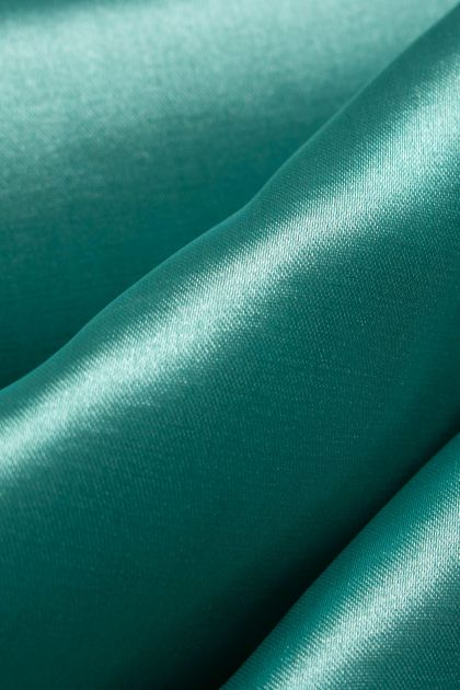 Tecido Cetim Span Verde Tiffany Escuro