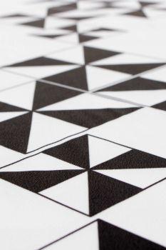 Tecido Crepe Light Estampa Doncella Abacaxi Geométrico